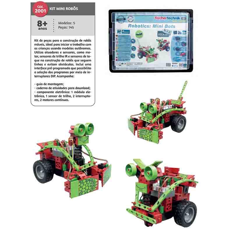 Kit Mini Robô 145 Peças