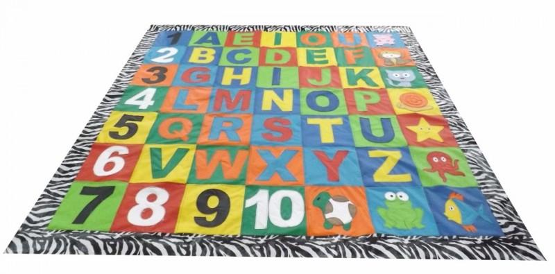 Tapetão Alfabeto Divertido