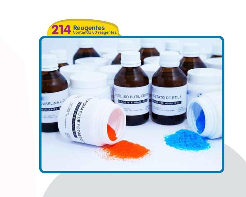 Reagentes - Contendo 80 Reagentes