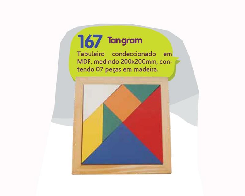 Jogo de Tabuleiro Tangram