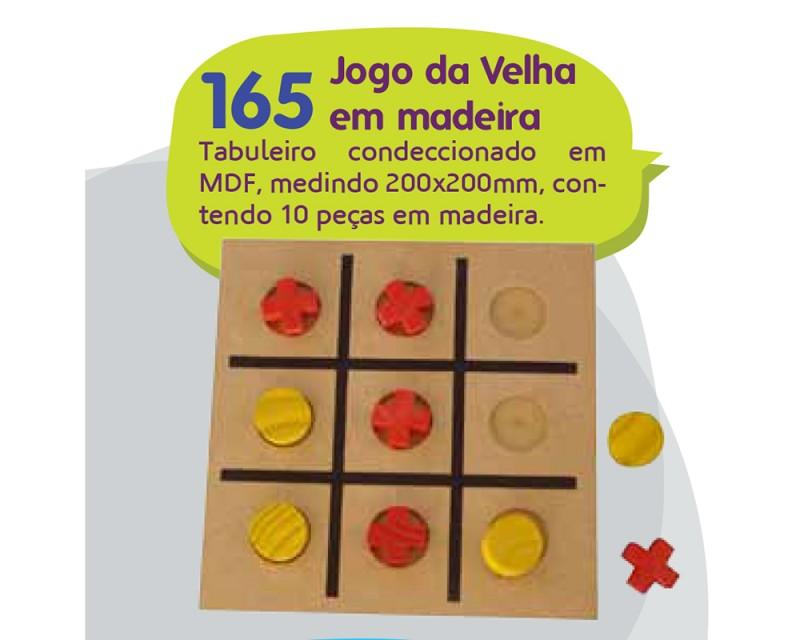 Jogo da Velha em Madeira