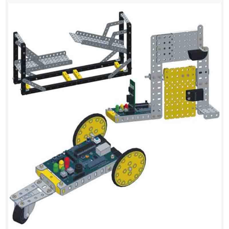 kit Robótica Educacional Modelix Fundamental-2 (6º ao 9º ano)