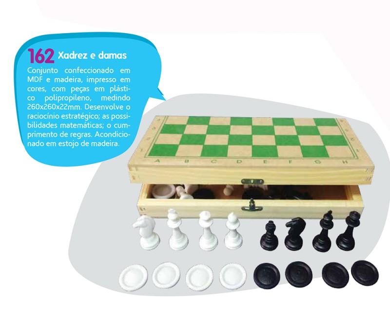 Jogo de Xadrez e Damas