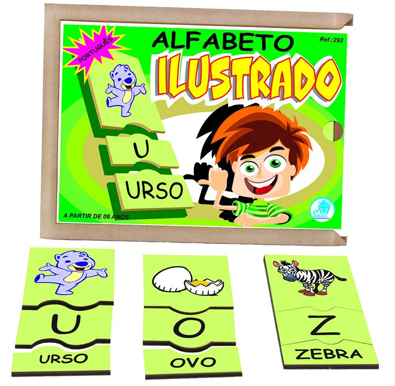 Alfabeto Ilustrado - Português