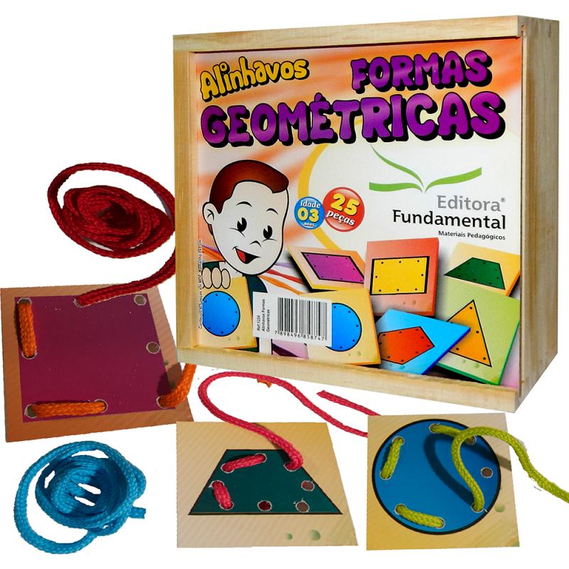 Alinhavos Formas Geometricas