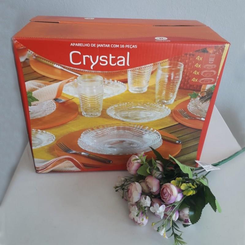 Aparelho de Jantar de Cristal