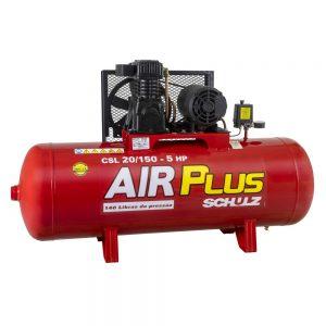 Compressor de Pistão Schulz Air Plus CSL-20-150-1