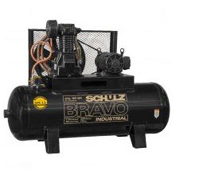 Compressor Pistão Schulz CSL 40 Bravo 250 Litros 175 Libras 10 cv Trifásico IP21