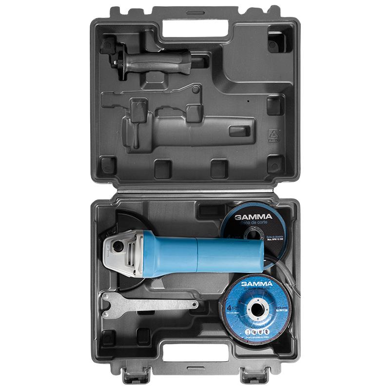 Esmerilhadeira Angular 750W com kit