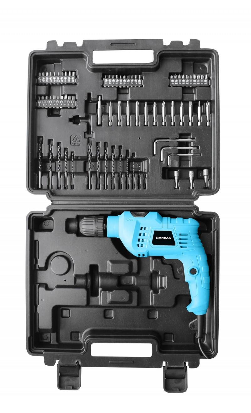 Furadeira de Impacto 650W 10mm com kit – G1905K