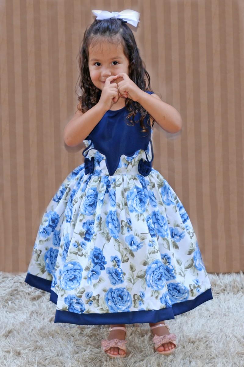 Vestido Infantil Manoella
