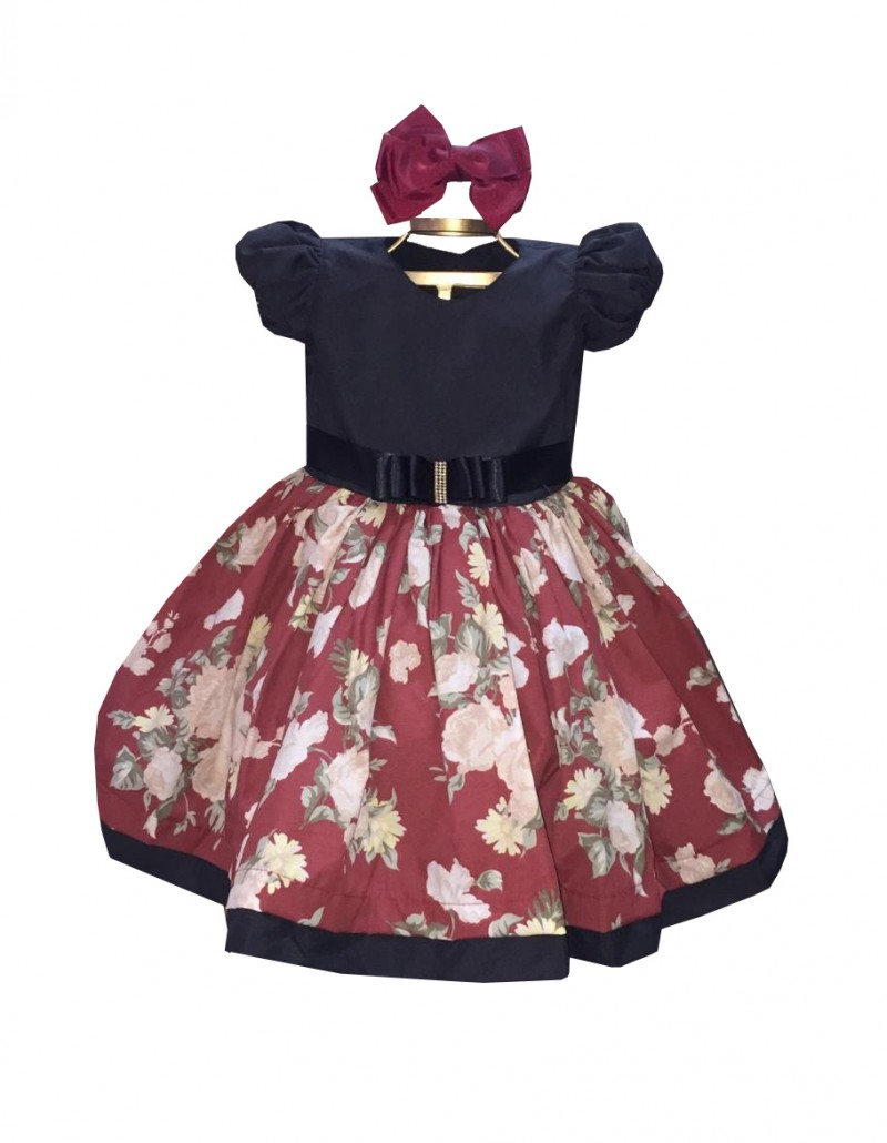 Vestido Infantil Sandy