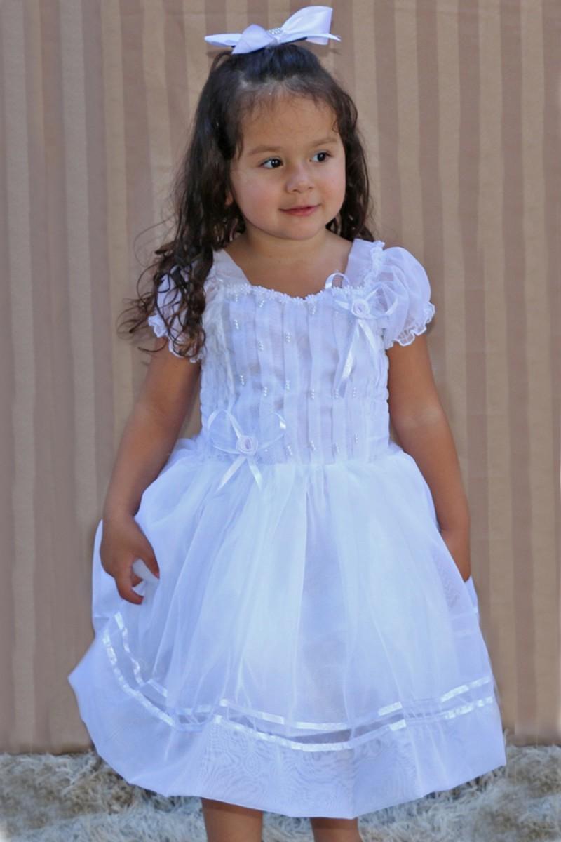 Vestido para Batizado 2 - De 0 á 6 Anos