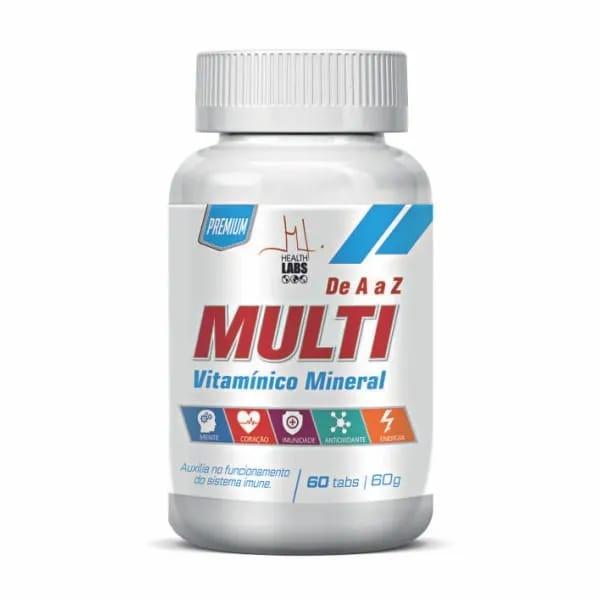 Multi Vitaminico Health Labs 60caps
