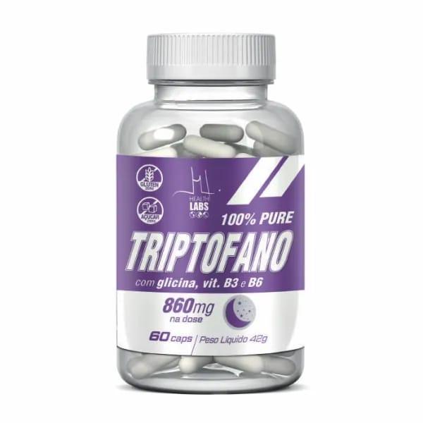 Vitamina - Triptofano 60caps Health Labs