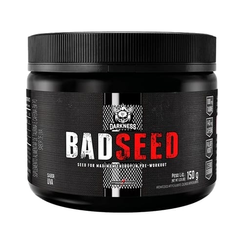Pré treino - BadSeed 150g Darkness