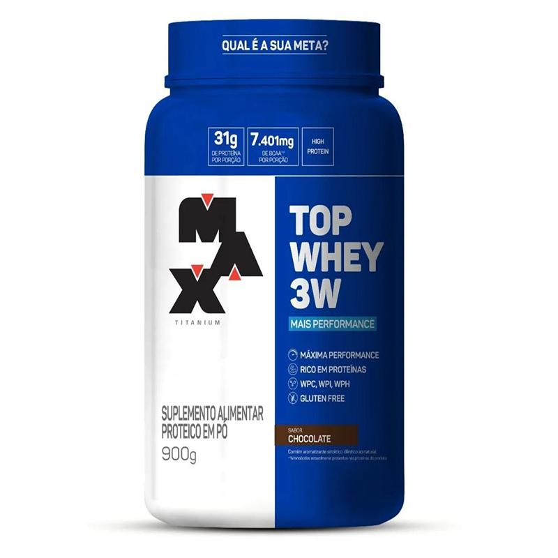 Proteína 3W - Top 3W 900g Max Titanium