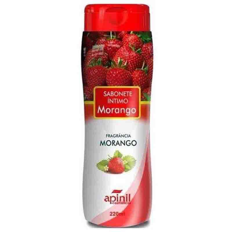 Sabonete Íntimo Feminino Morango 220 ml