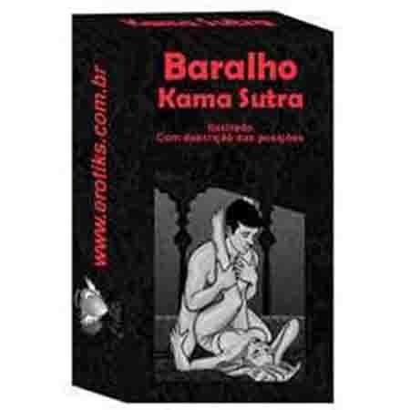 Baralho Kama Sutra - Com 20 Cartas com Posições do Kama Sutra
