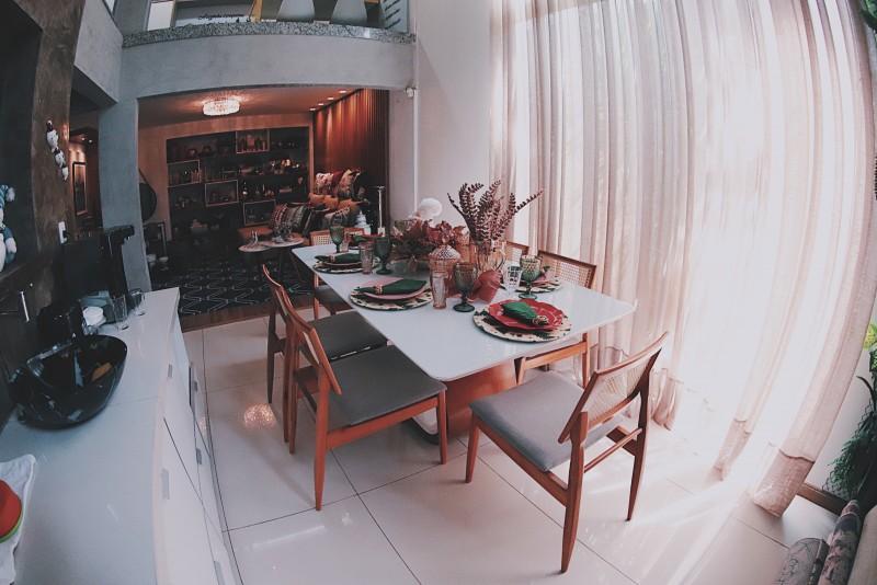 Objetos de Decoração - Mesa de Jantar