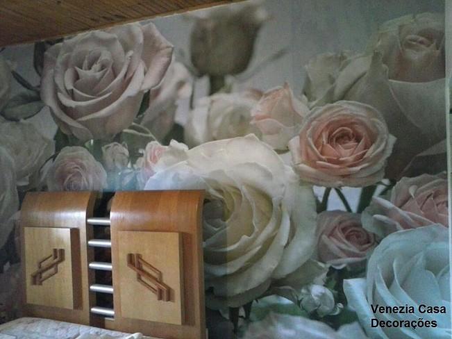Painel Fotográfico Rosas